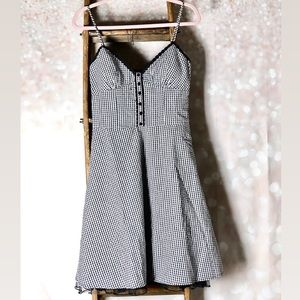 City Triangles Vintage Style Gingham Dress